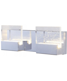 2  VERRE LED VANITY FIXTURE 15W (GBW61007-2)