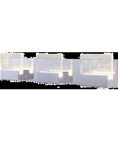 3 VERRE LED VANITY FIXTURE 20W (GBW61007-3)