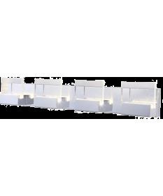 4 VERRE LED VANITY FIXTURE 28W (GBW61007-4)