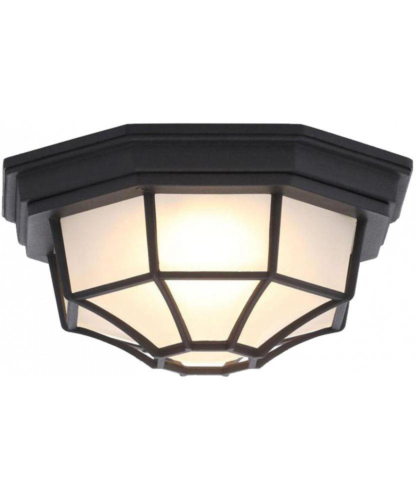 LED OUTDOOR FLUSH MOUNT FIXTURE 17W (ELEGANT18)