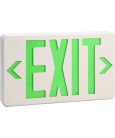 "6"" STEEL LED EXIT SIGN G (EX621G)"
