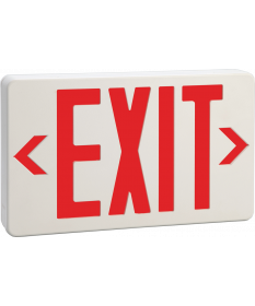 "6"" STEEL LED EXIT SIGN R (EX621R)"