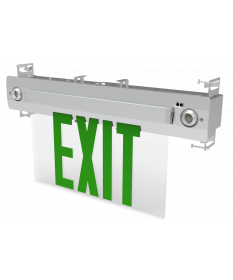 "6"" LED EDGE LIT UNIVERSAL EXIT COMBO G (EX627G)"