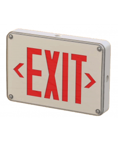 "6"" LED OUTDOOR WATERPROOF EXIT SIGN (EX628R)"