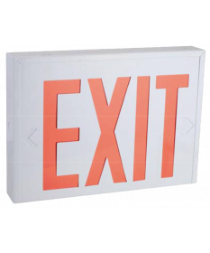 "8"" STEEL LED EXIT SIGN (NYEX601W)"